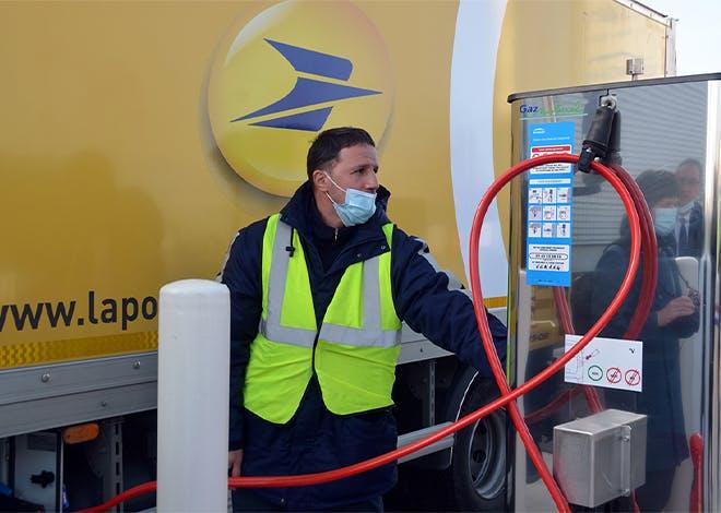 Pour construire sa première station GNV, Viapost a fait appel à ENGIE Solutions avec son offre GNVERT