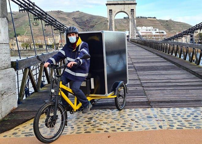 Tournon-sur-Rhône à l'ère du vélo cargo