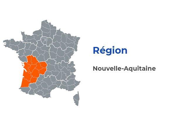 Région - Nouvelle-Aquitaine
