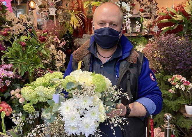 Gilles Fretz, Fleuriste pour l'enseigne Exotica