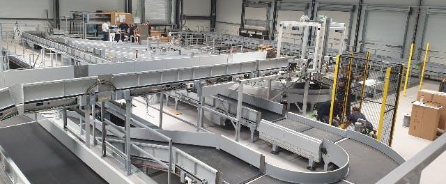 D'une surface de 7 600 M2, la plateforme multiflux d'Argonay représente un investissement de 19 millions d'euros