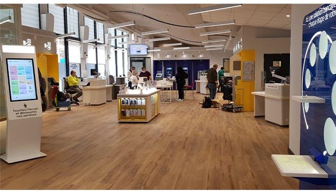 Le bureau d'Aix La Rotonde propose un espace de coworking pouvant se transformer en salle d'examens du code de la route