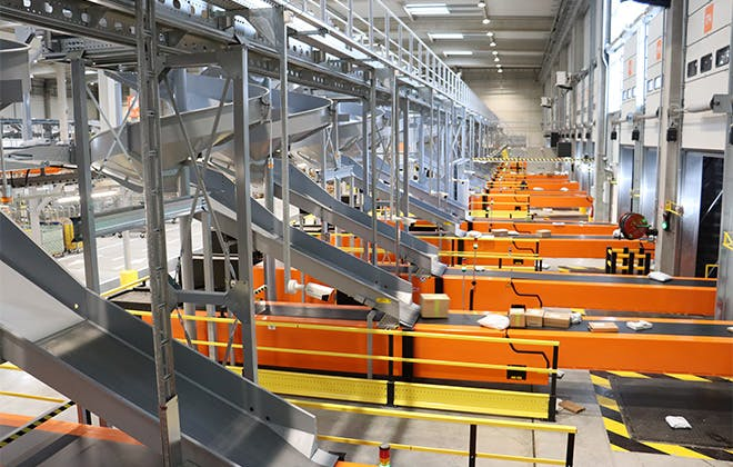 Four ultra-modern Colissimo sorting hubs have been opened in France since 2019