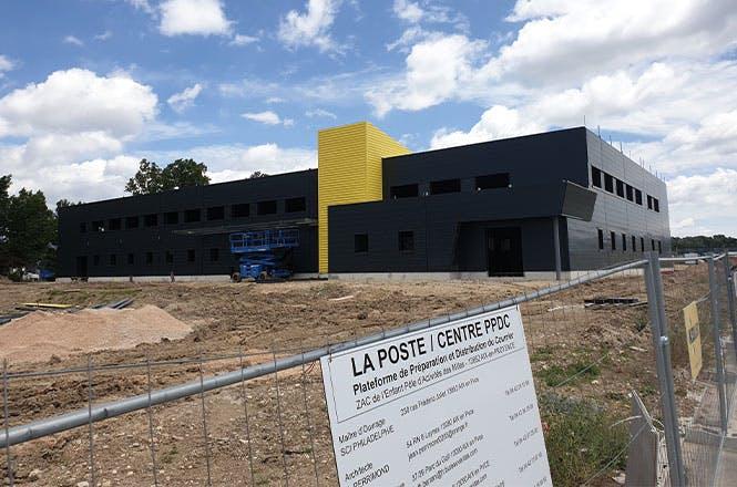 La future PPDC multiflux d'Aix-en-Provence, en cours d'achèvement