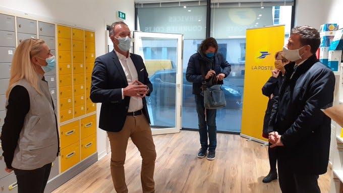 Le centre-ville de Brest compte un nouvel espace clients Service-Courrier-Colis
