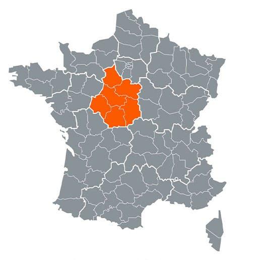 Région - Centre-Val de Loire