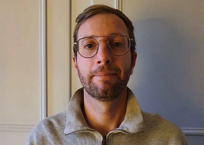 """Édouard Faller, président de l'association """"Les Vitrines de Sélestat"""""""