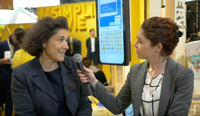 #VivaTech 2019 - Interview de Nathalie Collin