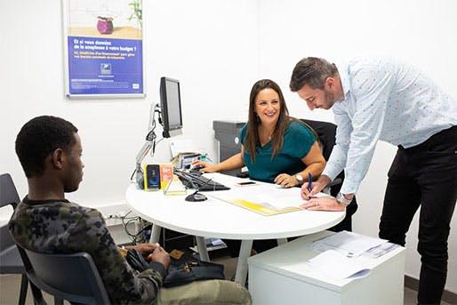 La Banque Postale porte une attention particulière à concilier proximité humaine