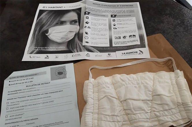 La ville de Saint-Lô s'est attachée les services de La Poste pour la distribution à ses habitants de masques de protection contre le coronavirus