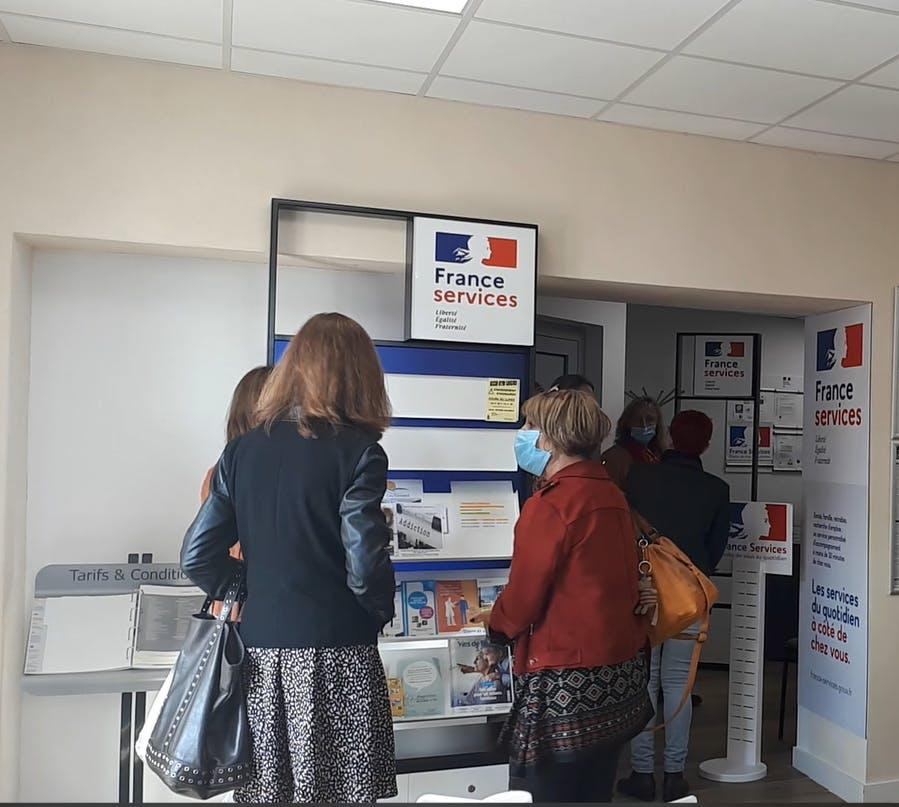 Le Conseil Départemental et le Conseil Régional ont contribué aux travaux sur le bureau de poste
