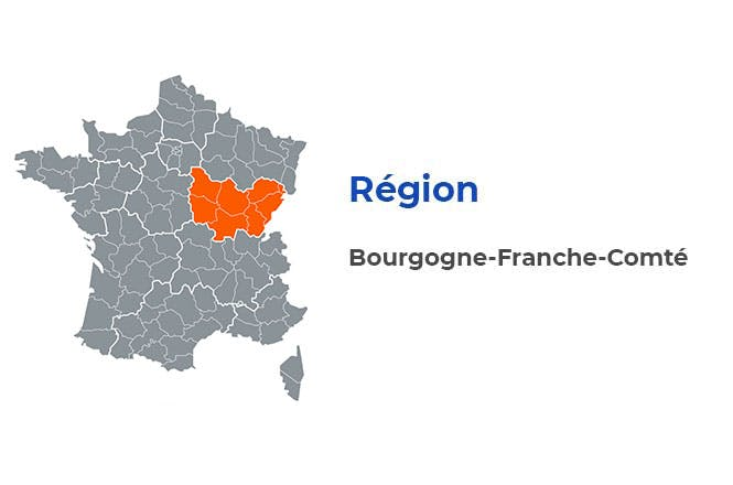 Région - Bourgogne-Franche-Comté