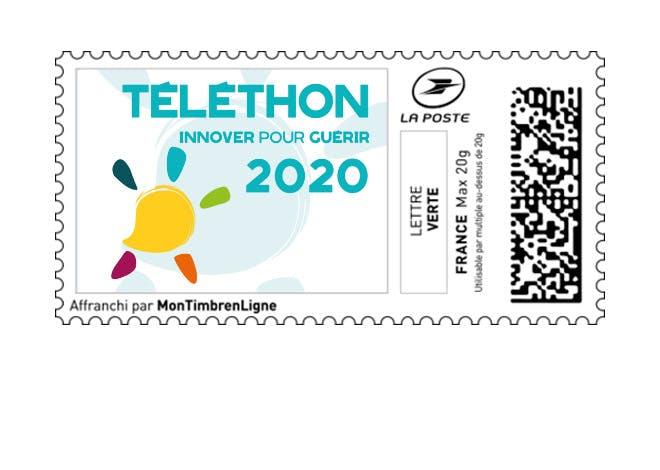 Timbres Téléthon 2020