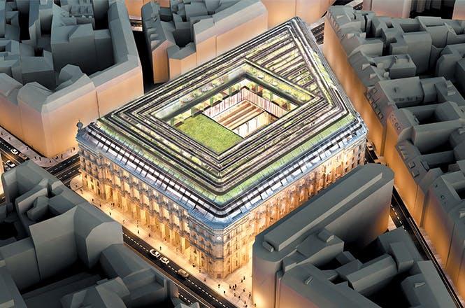 La Poste du Louvre se situe au coeur du 1er arrondissement de la capitale, dans une métropole qui totalise 12 millions d'habitants