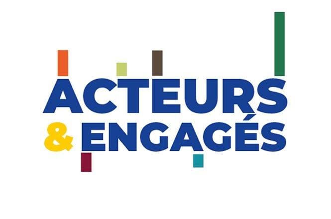 """Logo """"Acteurs et engagés"""""""