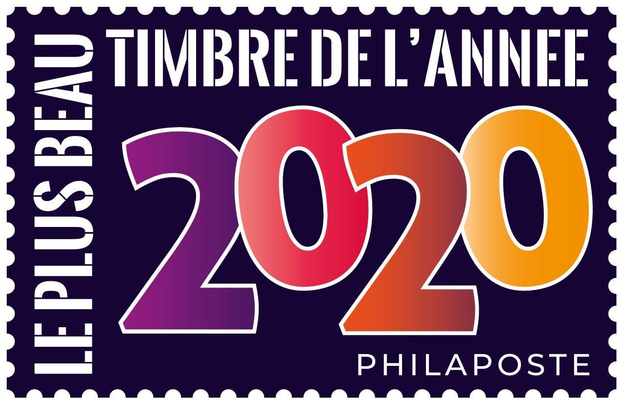 Le plus beau timbre de l'année 2020