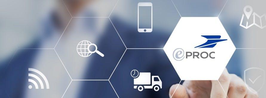 Le Groupe La Poste se dote progressivement du l'outil eProc dédié à la gestion de ses approvisionnements.