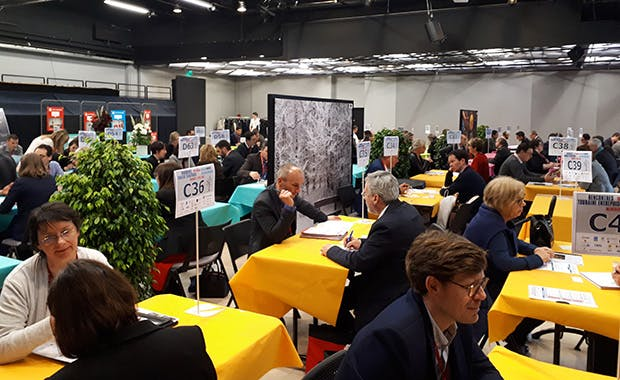 Speed dating for entrepreneurs at the Rencontres Touraine Entreprises