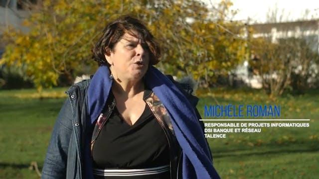 Michele Roman, Responsable de projets informatiques chez La Poste