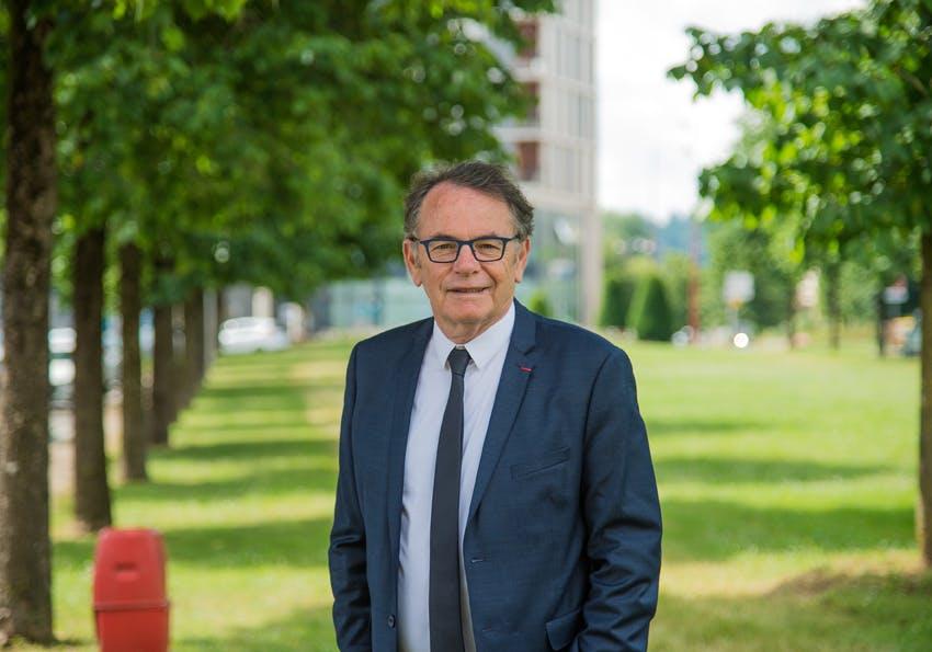 Christian Teyssèdre, président de Rodez Agglomération, revient sur le plan d'actions de la collectivité pour soutenir le commerce de proximité