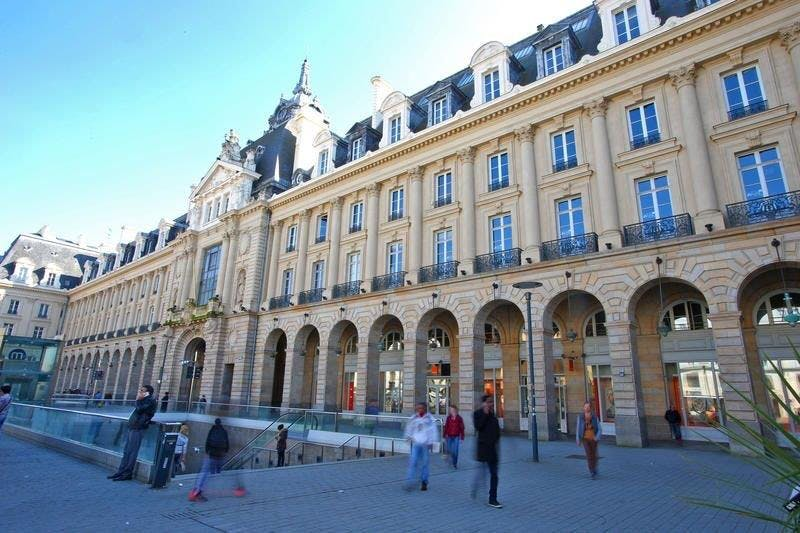 The Palais du Commerce in Rennes