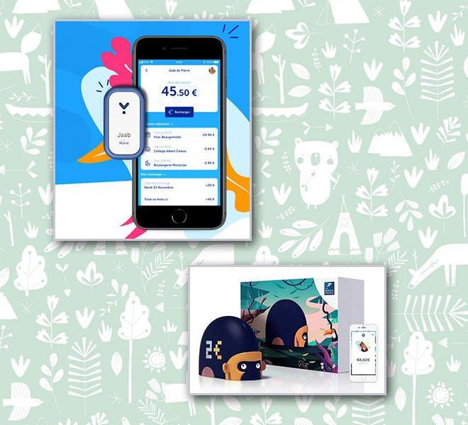 Les applications et objets connectés de La Poste: l'application Jaab et le jouet connecté Monimalz