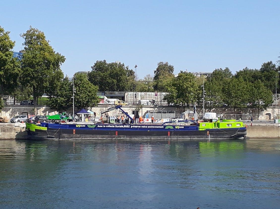 """La Poste participe à l'opération """"Tri en Seine"""""""