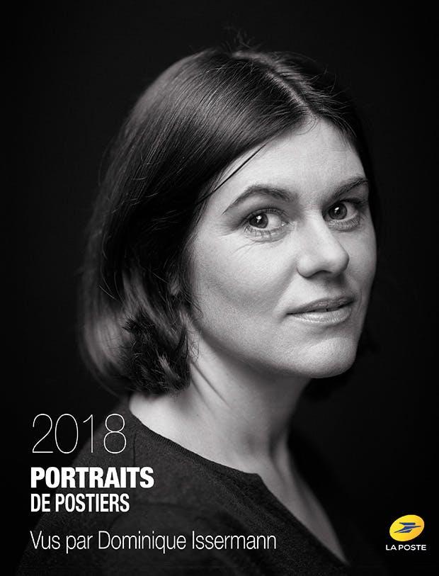 La couverture du cahier « Portraits de postiers 2018 »