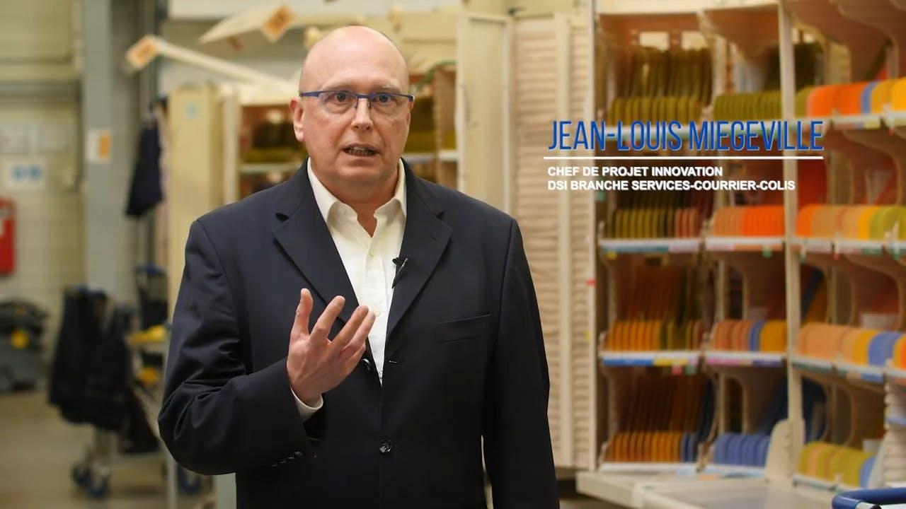 Jean Louis Miegeville, Chef de projet Innovation chez La Poste