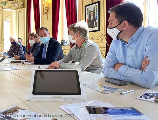 Conseil municipal de Louviers
