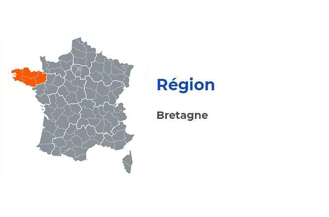 Région - Bretagne