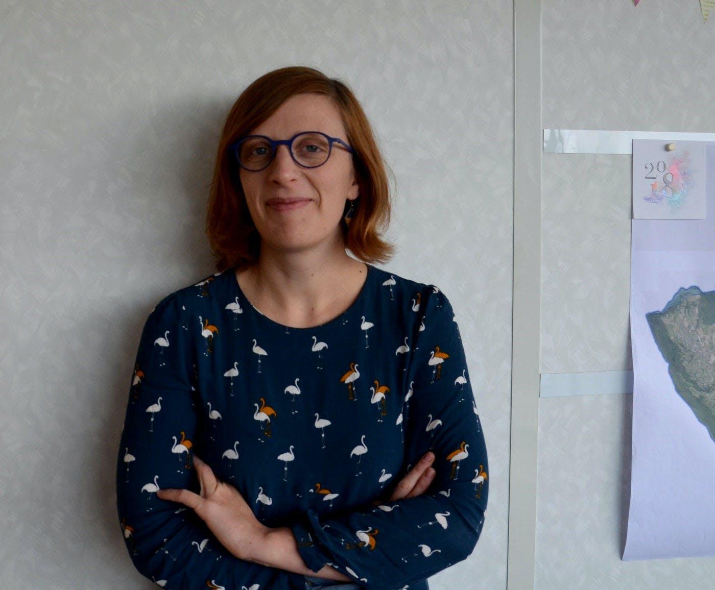 Laura Breuilly, responsable du service Habitat à la Communauté de Communes