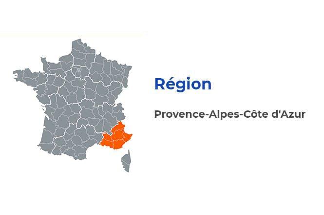 Région - Provence-Alpes-Côte d'Azur