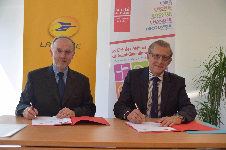 Signature d'une convention pour l'emploi à Saint-Quentin-en-Yvelines