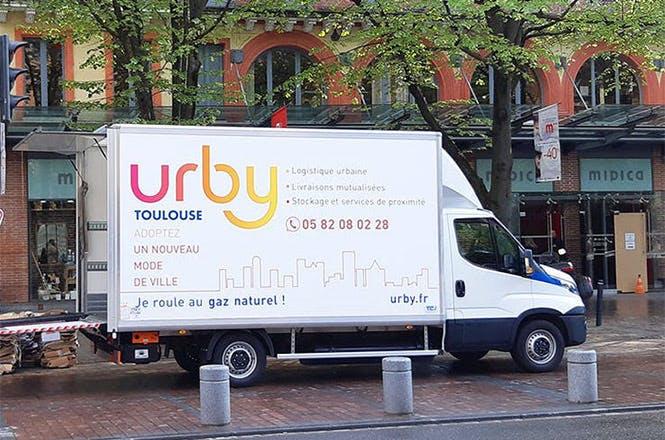 Urby livre vos produits Fraichy dans toute la ville