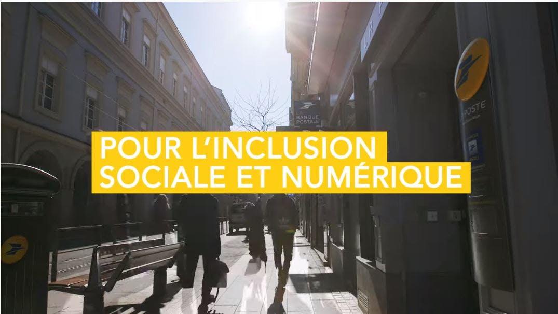 La Poste agit en faveur de l'inclusion sociale, numérique et bancaire