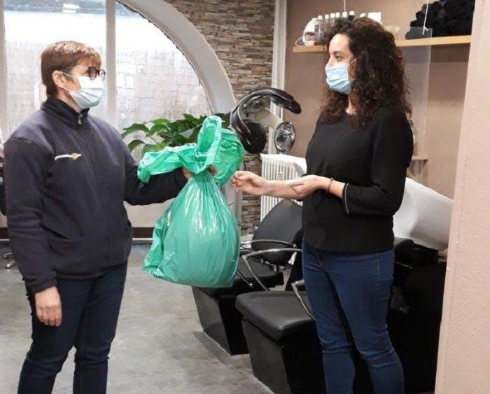 23 salons de coiffure issoiriens ont accepté de participer à l'expérience de collecte