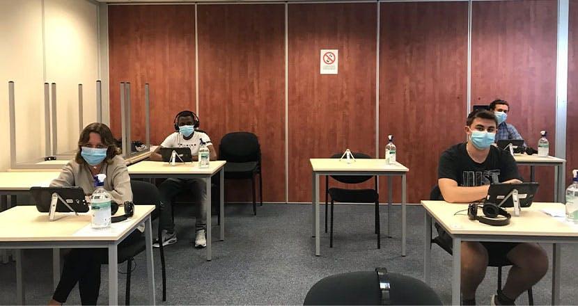 Dans les Alpes-Maritimes, les 6 centres d'examens ont pu rouvrir