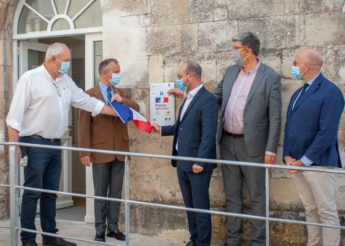 Inauguration de l'espace France Services, le 16 juillet 2020
