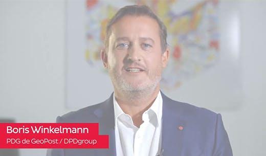 Boris Winkelmann, PDG de GeoPost dévoile la stratégie environnementale de DPDgroup