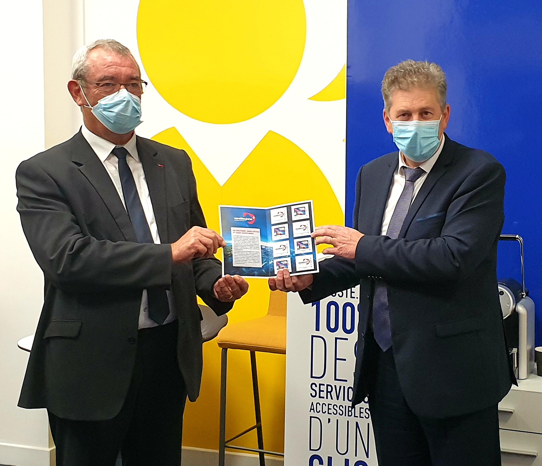"""Yves Auvinet et Alain Charrier dévoilent le collector """"Cap sur le Vendée Globe"""""""