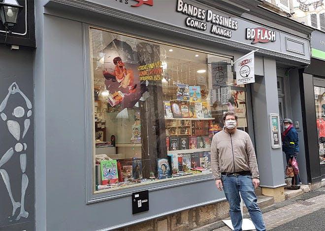 La librairie BD Flash
