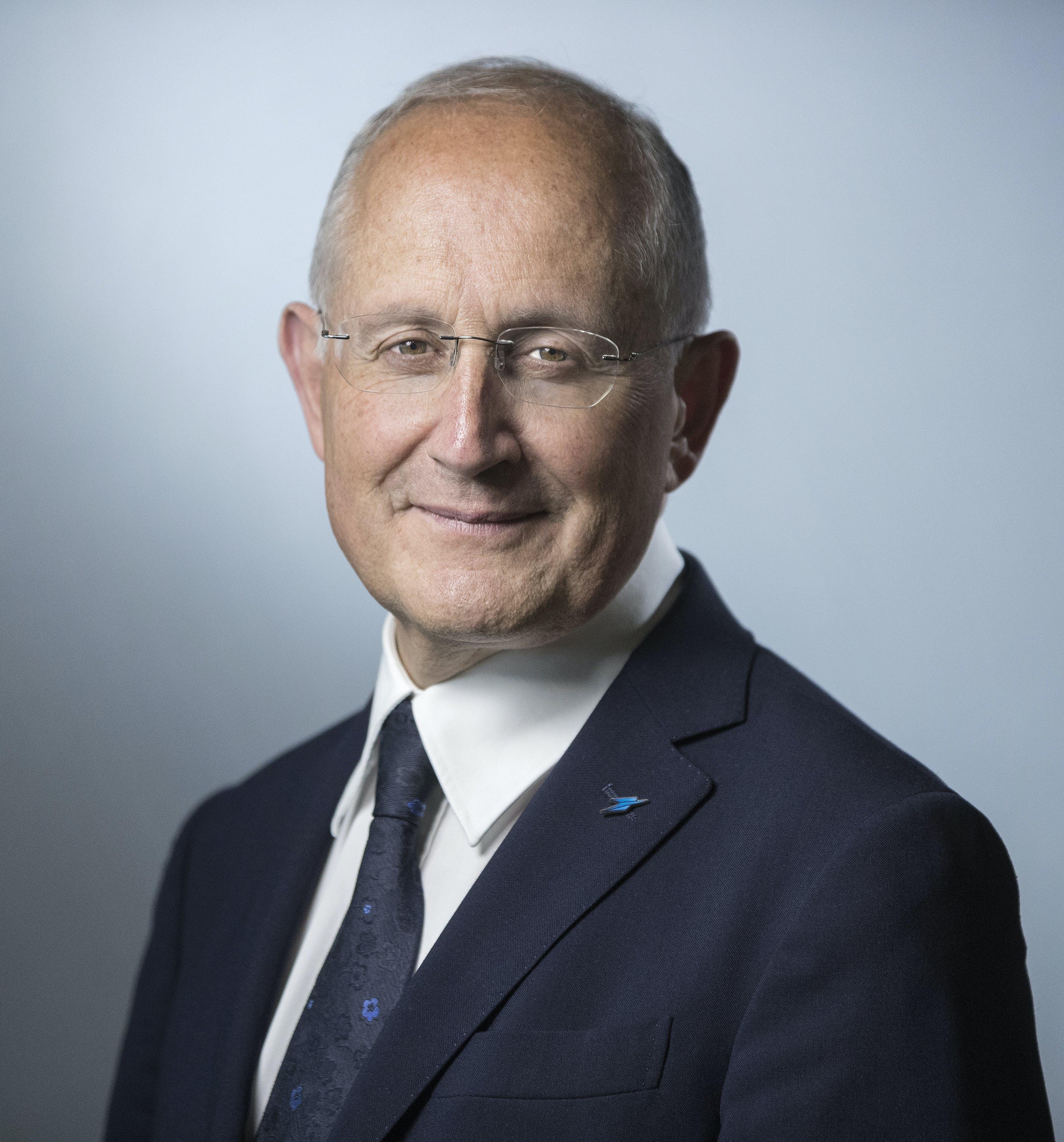 Philippe Wahl, président directeur général du Groupe La Poste