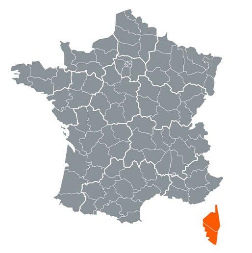 Région - Corse