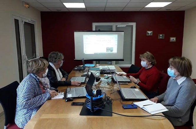 4 communes de la communauté de communes du Pays du Neubourg accueillent actuellement ces ateliers numériques gratuits