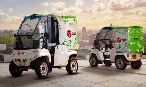 La Poste has the largest fleet of electric vehicles in the world. Nearly over 40,000 electric vehicles (including electrically assisted bicycles), including 16,300 three and four-wheel utility vehicles. It also has 300 NGVs (natural gas vehicles).