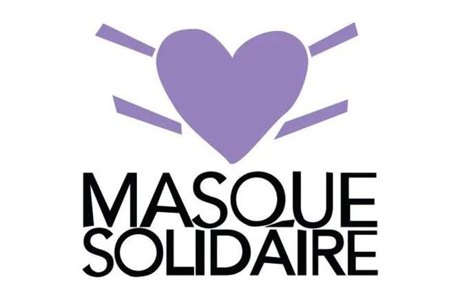 "Logo ""Masque Solidaire"""