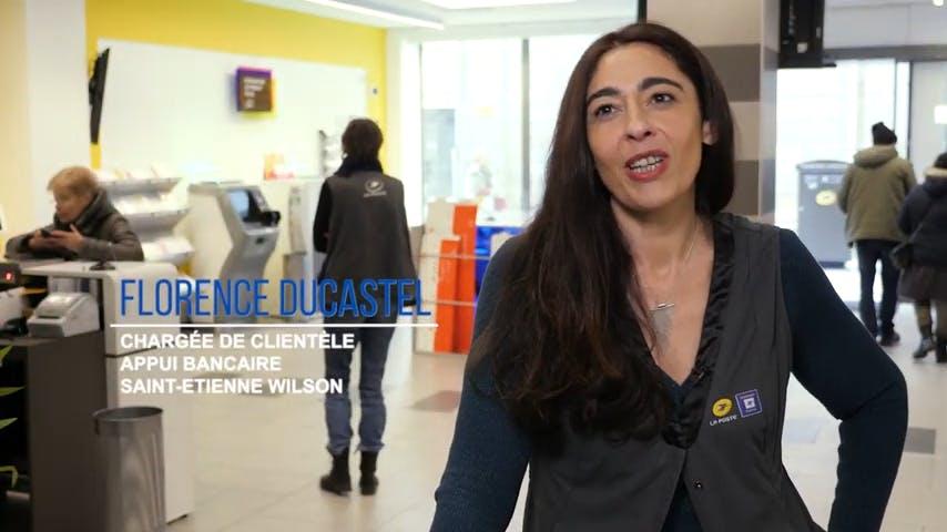 Florence Ducastel, Chargée de clientèle appui bancaire chez La Poste