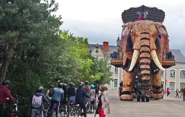 Découverte de « l'éléphantesque » patrimoine nantais