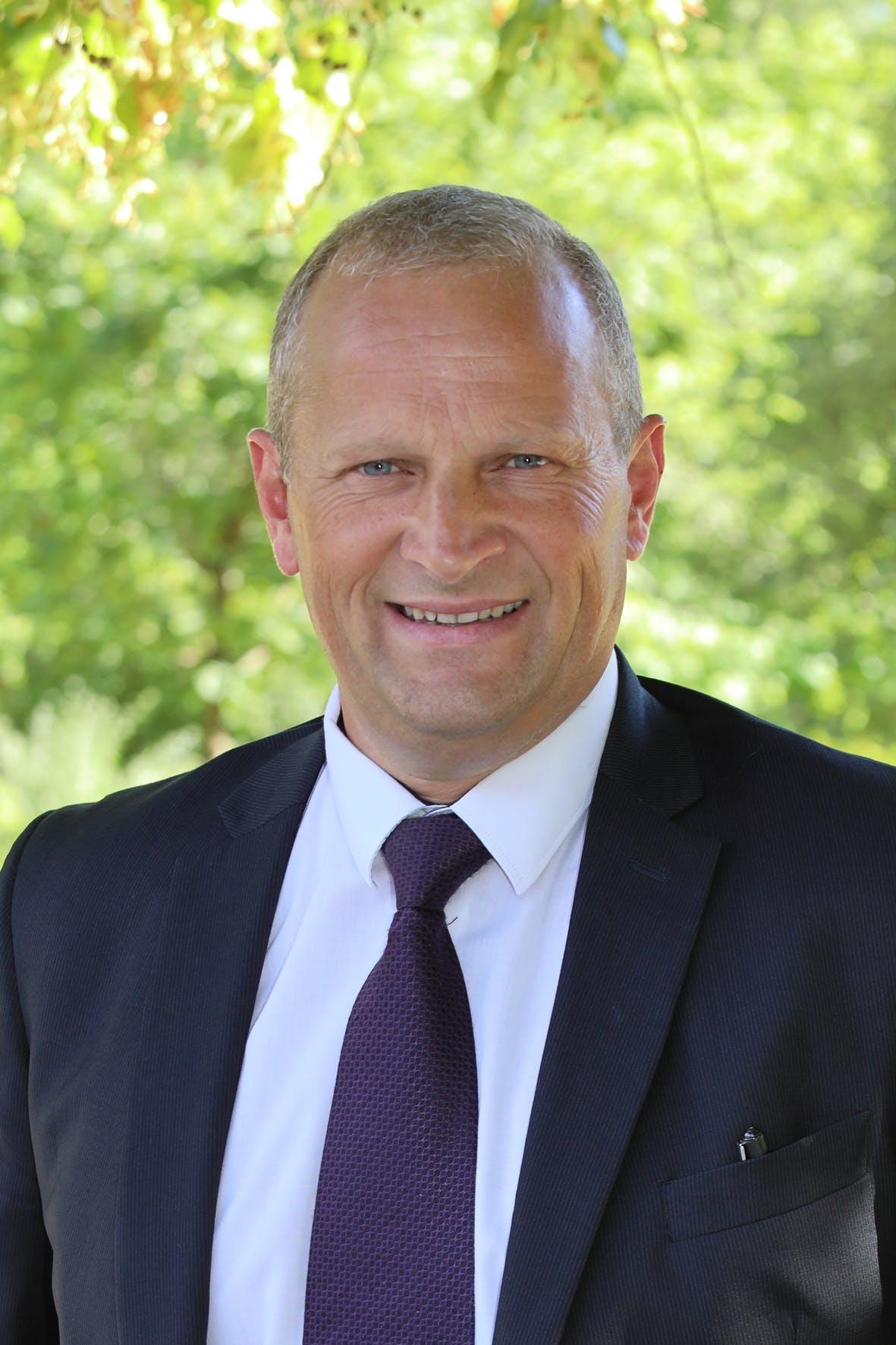 Charles Dayot, président de l'agglomération et maire de Mont-de-Marsan
